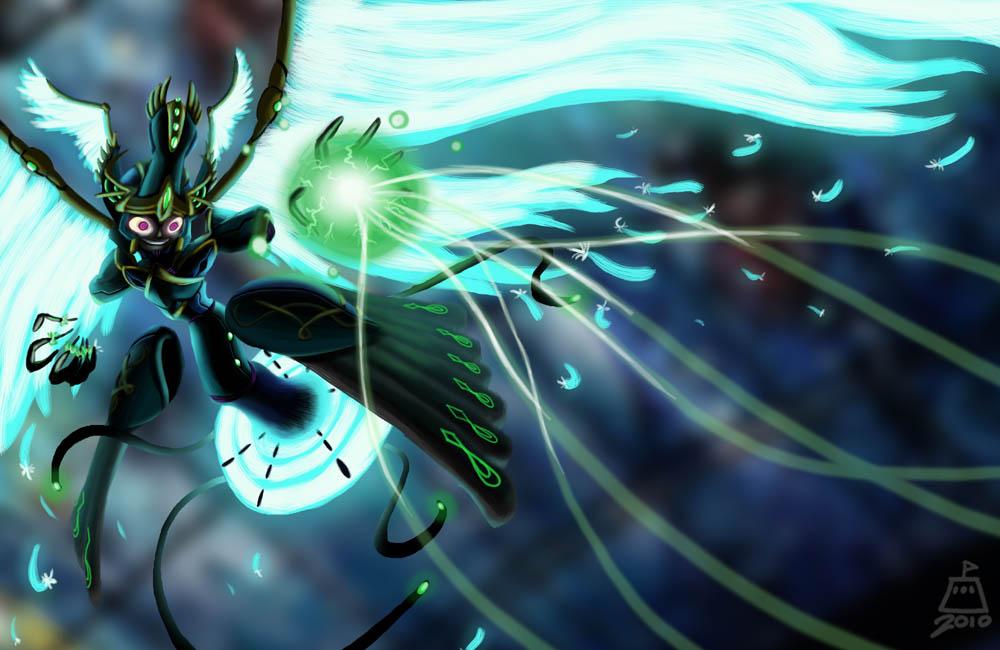 Machine Goddess Illaysha by bernoully