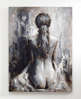 Lovely Greys - Acrylic Painting for Wall Decor by Novadeko