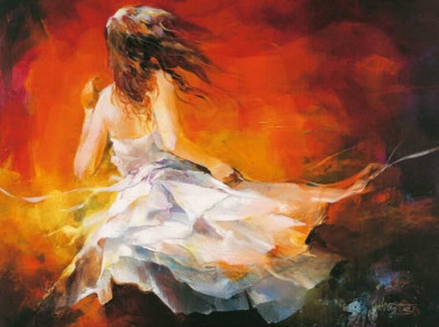 Freedom - Acrylic Oil Paintings on Canvas by Novadeko