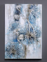 Dreaming Blue - Oil Painting for Wall Decor by Novadeko