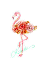 Flamingo by teetania