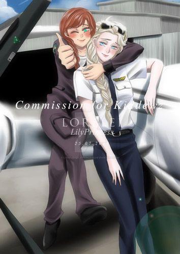 Elsanna Commission 04 by LORELEI-LilyPrincess