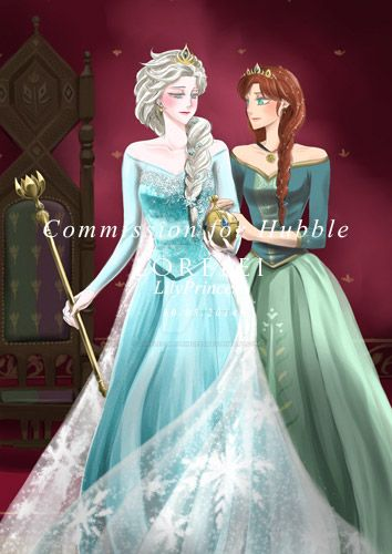 Elsanna Commission 07 by LORELEI-LilyPrincess