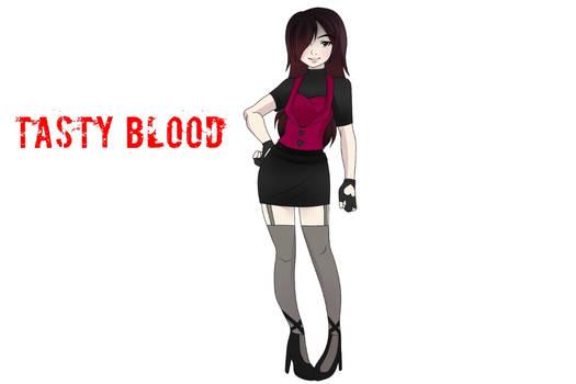 Tasty blood (oc creeoypasta)