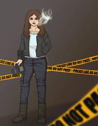 Agnes Guzman. Paranormal detectivd