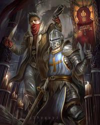 Darkest Dungeon fan art by ShyguyzArt