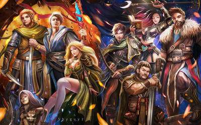 Dungeons and Dragons by ShyguyzArt
