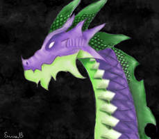 Spike (mlp) the big dragon