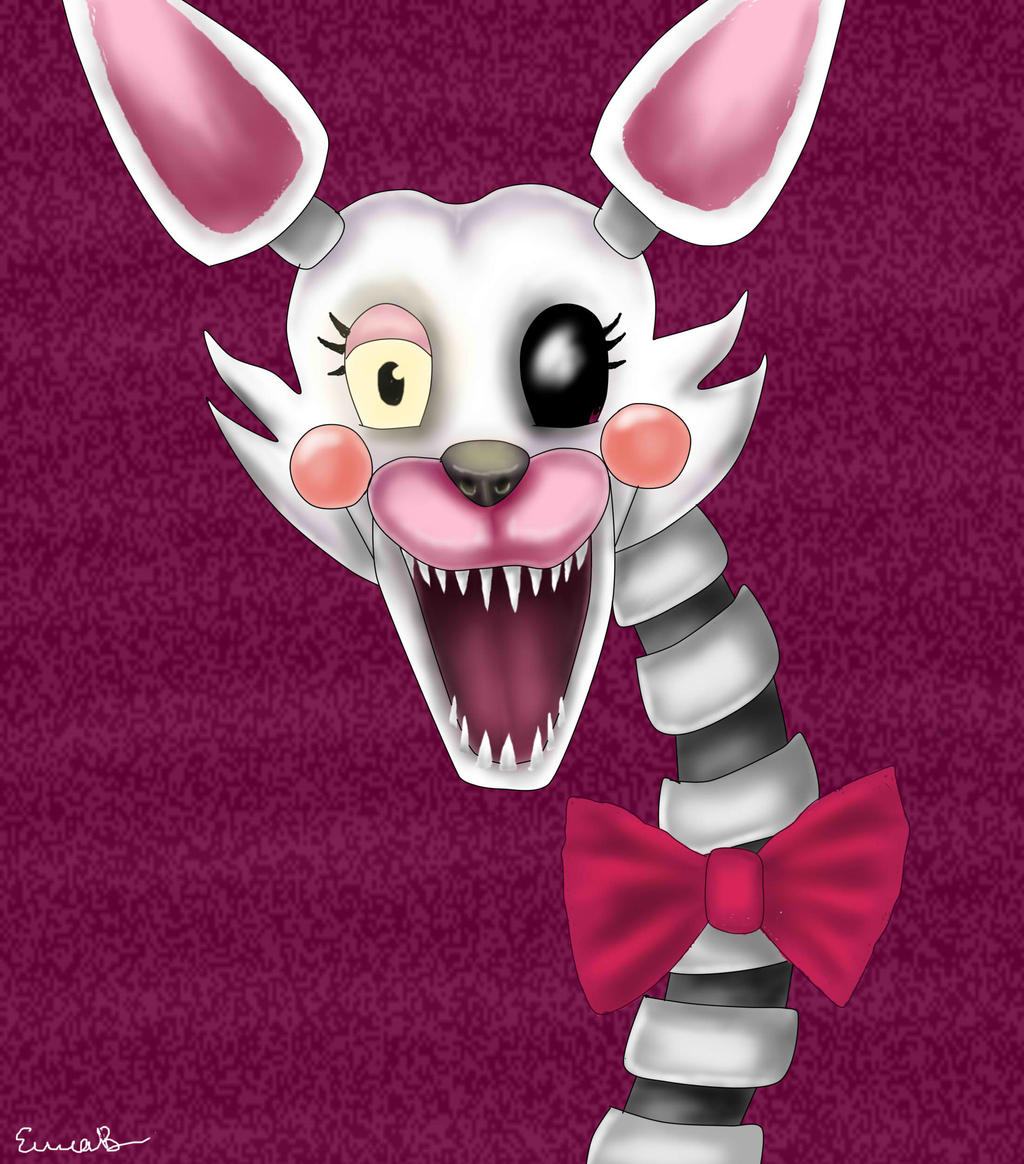 Mangle fnaf 2 by shinyforest on deviantart