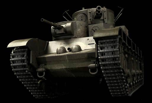 T35 Heavy Soviet Tank WIP1