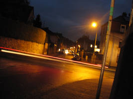 Nightly street by Rylius