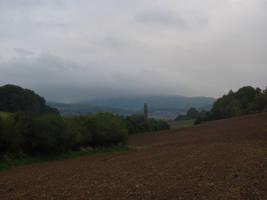 Foggy Hills by Rylius