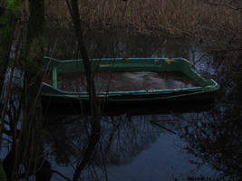 Stranded Boat by Rylius