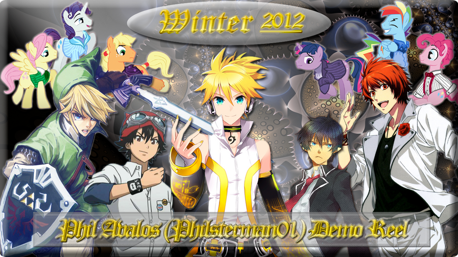 Philsterman01 Demo Reel Winter 2012 Cover Art by philsterman