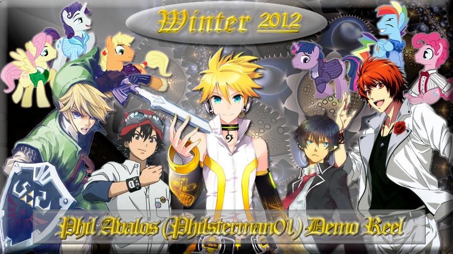 Philsterman01 Demo Reel Winter 2012 Cover Art by philsterman