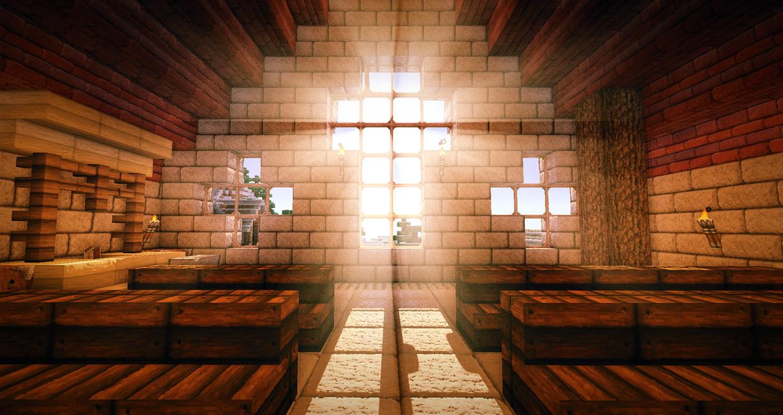 Minecraft $15 - Church by x4ct1on
