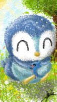Piplup with otto by trishagaile