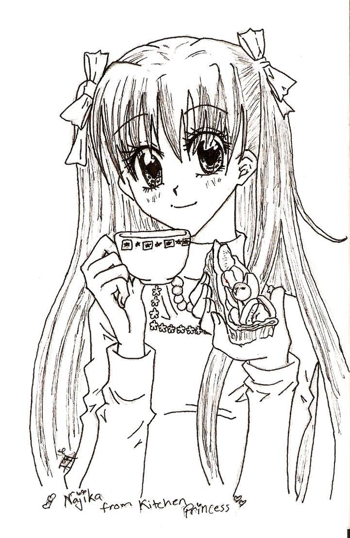 Najika from Kitchen Princess by vtori77777 on DeviantArt