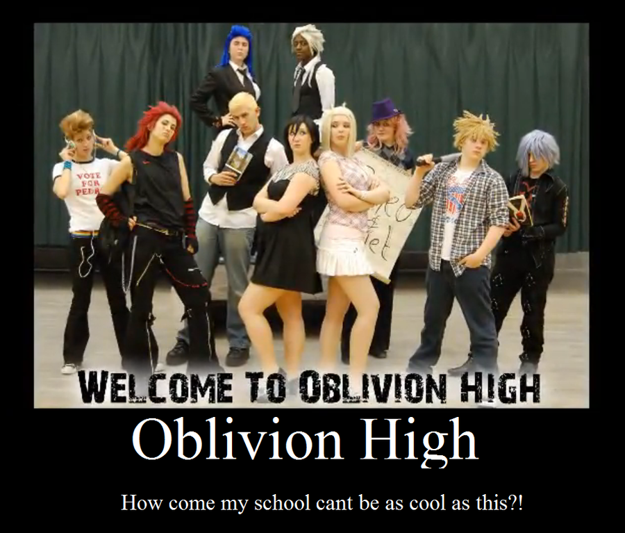 Oblivion High by sonicnshadow321