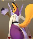 Digital priestess booty