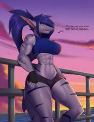 Evening trainer