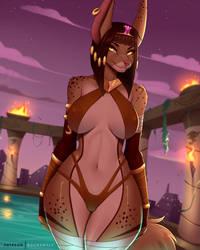 Zanya's royal pool