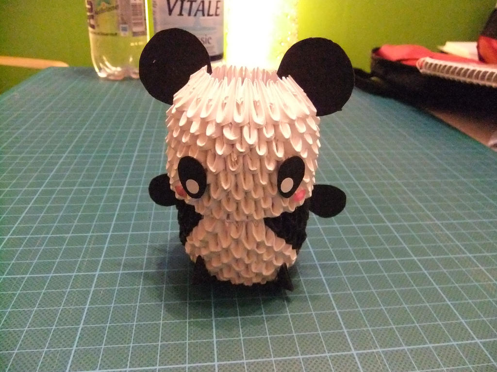 3d Origami Panda By Phinil On Deviantart