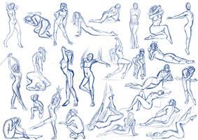 Female Pose Practice