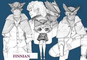 Sketchpage Finnian