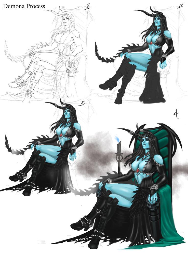 Demona Process by geminisoku