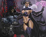 Fan Art of Evil-Lyn, Skeletor, Panthor