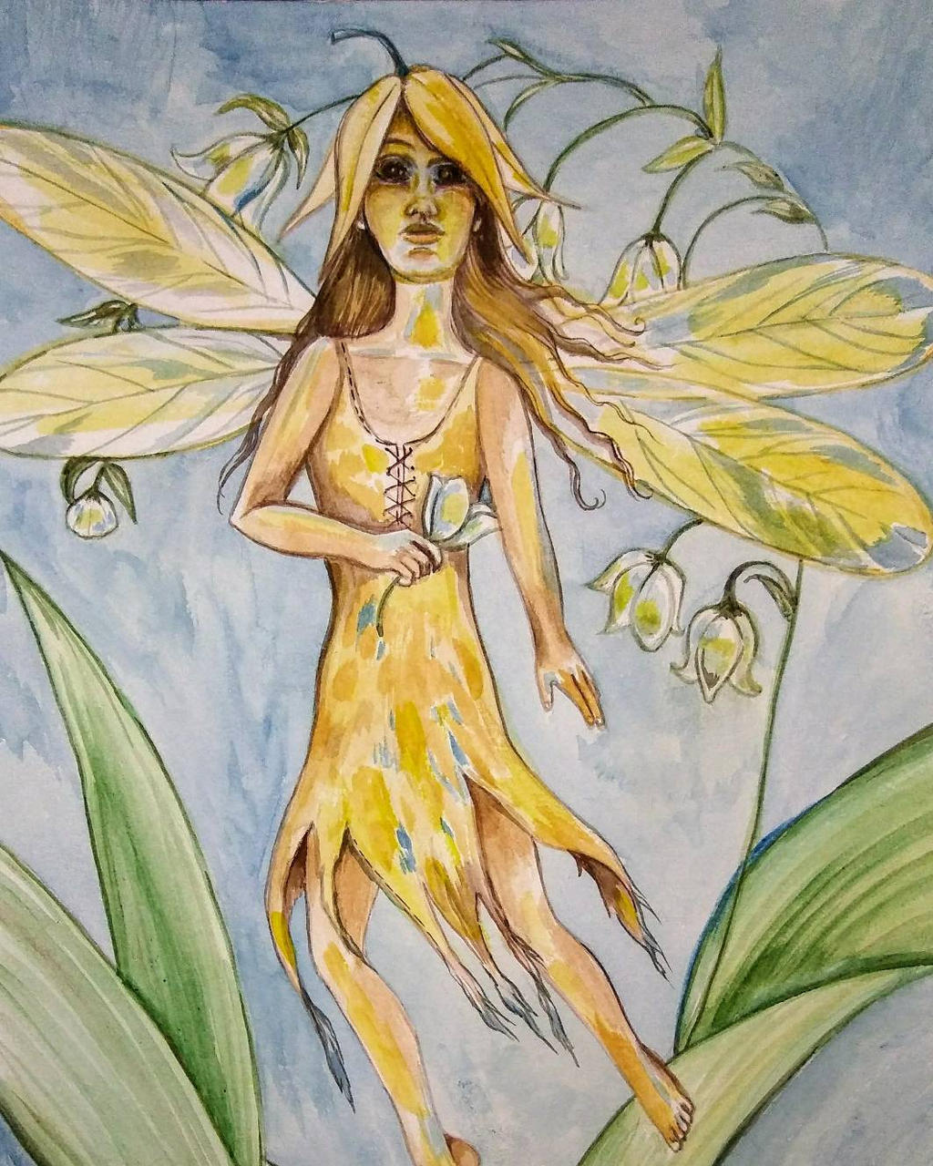 Lily Of The Valley Fairy By Pattyarnold On DeviantArt