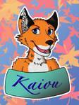 Kaiou badge