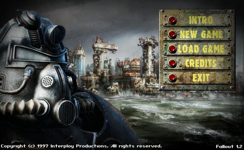 Fallout 1 Menu REMAKE by SaintPaul06 on DeviantArt