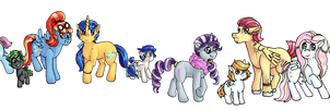 My Little Children: Kids of the Mane Six by Panai