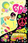 cartel de los 60's