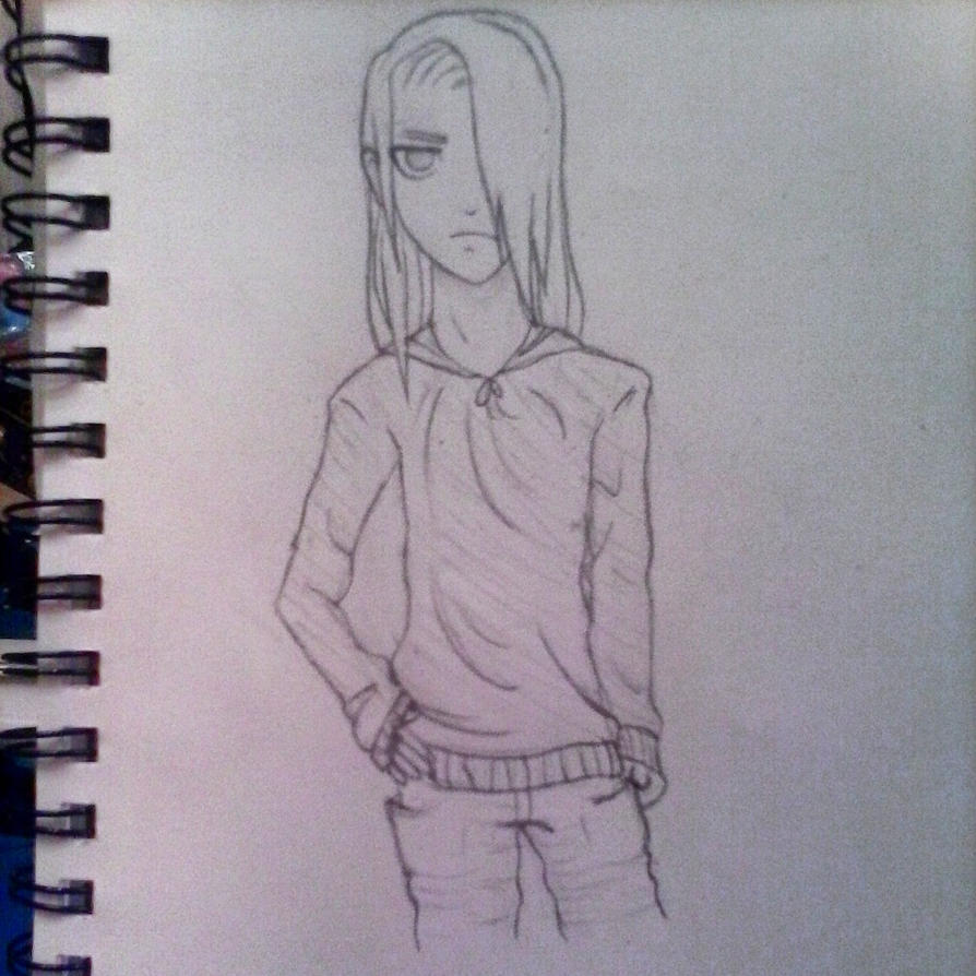 8-24-14 Deidara causal clothes by kathykooky