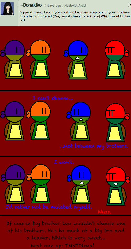 Ask The Turtles: Episode Three: Donakiko by YAYProductions