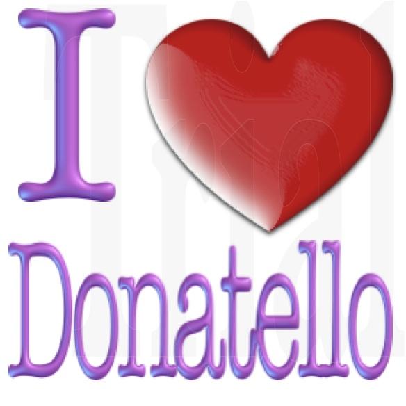 I Love Donatello by YAYProductions