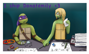 DonatelloxEmily by YAYProductions
