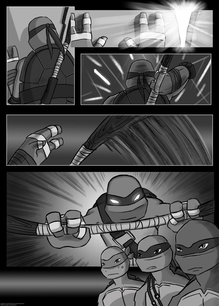 Splintered In Time: Page Three by YAYProductions