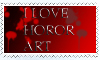 I love horror art by Horor-dark-art-club