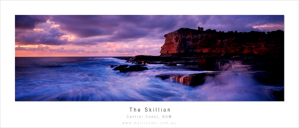 Skillion Dawn, Central Coast by MattLauder