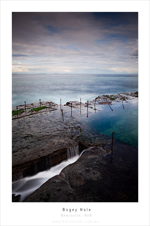 Bogey Hole, Newcastle, NSW by MattLauder
