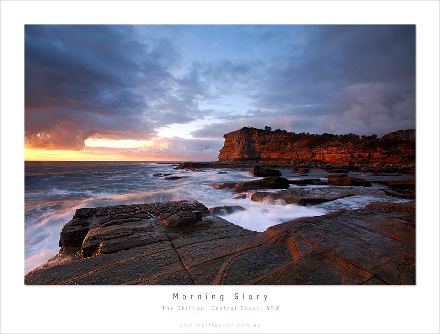 Morning Glory, Skillion, NSW by MattLauder
