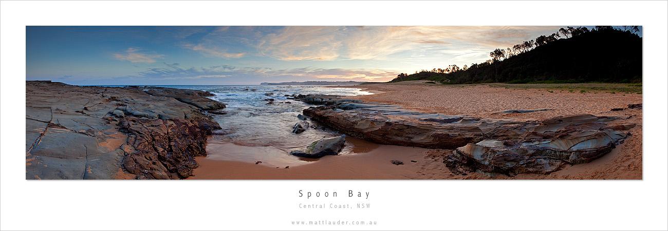 Spoon Bay 180 Degree View by MattLauder
