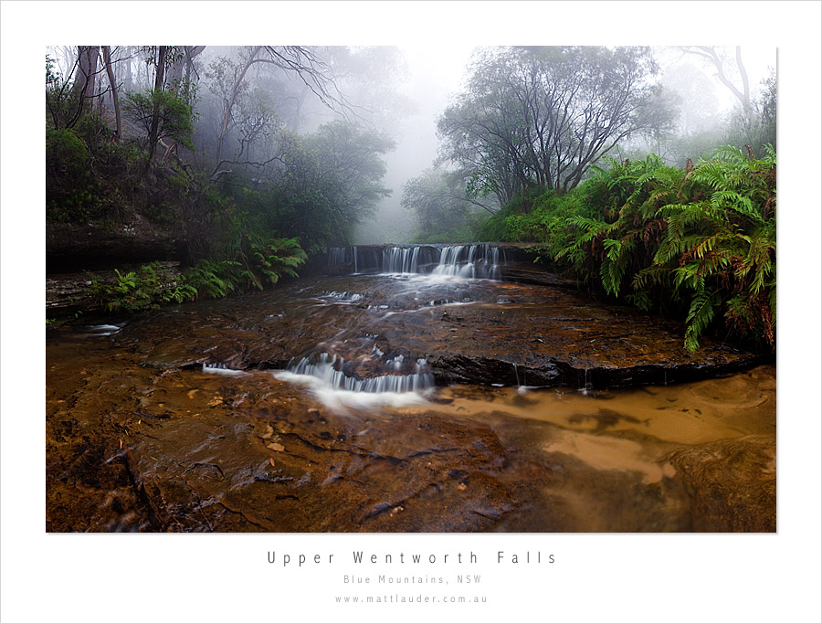 Upper Wentworth Falls 35mm by MattLauder
