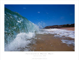 Forresters Beach Water Wall by MattLauder