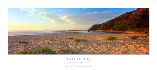 Bateau Bay Dawn by MattLauder