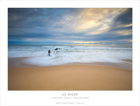 SS Dicky, Dicky Beach